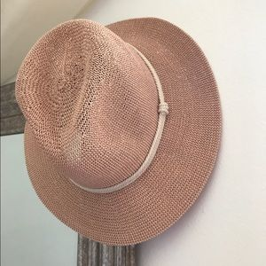 POL Dusty Pink Boho Hat